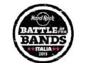 Save date venerdì giugno Hard Rock Cafe presenta finalissima Battle bands Italia 2015