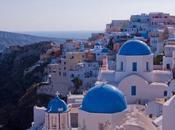 Volare verso Santorini Sicilia