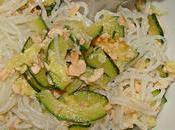 Shirataki salmone zucchine!