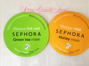 Review: •Masque Sephora• Maschere tessuto.
