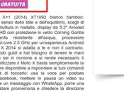 Motorola Moto 2014 Bamboo disponibile euro Glistockisti.it