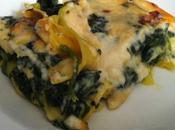 Lasagne forno spinaci, gorgonzola noci