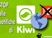 Come disattivare notifiche Kiwi Facebook [Guida]
