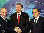 Turchia. pessime eredità Recep Tayyip Erdoğan: Blue Stream Putin Berlusconi.