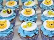 Cupcakes battesimo Winnie Pooh apine