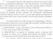Lorusso: Comando generale delle Fiamme Gialle nessuna iniziativa concreta tutela vittime dell'amianto divisa