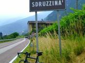 road bike facing Sdruzzinà uphill (13/6, 2015)