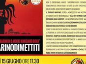 Destituita ogni credibilità causa manifesti abusivi manifestazione Movimento Stelle contro sindaco oggi Campidoglio