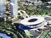 Godiamoci rendering Nuovo Stadio della Roma riflettendo sull'iter questa infrastruttura. deve decidere Regione. Perché?