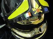 casco italiano Sicor 2009 Corpo Nazionale Vigili Fuoco