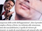 Renzi: l'ultimo ricatto, sulla pelle 100.000 precari della scuola