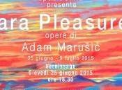 Adam Marusic, Zara Pleasure. Vibrazioni cielo della Dalmazia