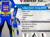 Dainese Racing Suit Vincent Philippe 2015