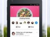 Facebook Groups Android aggiorna alla versione