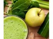 Succo zucchine, mela, lime, spinaci prezzemolo