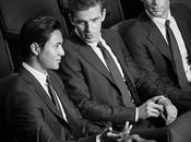 Giorgio Armani svela nuova campagna Made Measure protagonisti Matt Bomer, Chen Stevens