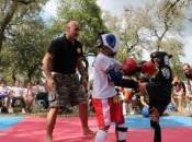 Muay thai, tanto divertimento Summer fight kids