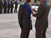 Foggia/ Croce Bronzo Merito dell'Esercito. Insignito Capitano Priore: benché ferito territorio Afghano reagiva all'attacco