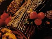 Tronchetto cioccolato liquore all'amaretto.