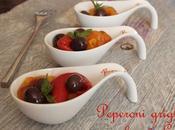 Peperoni grigliati olive Gaeta