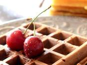 Waffeln vegan cioccolato fondente