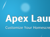 Apex Launcher disponibile Play Store