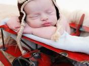Viaggiare aereo neonato