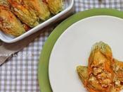 Fiori zucchina forno Feta Pomodorini
