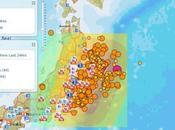 Mappa Sociale Terremoto Giappone