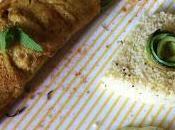 Cuscus profumo d'estate cannolo farina lupini alle zucchine saporite, maionese capperi