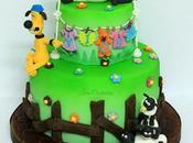 Shaun sheep cake!!! shaun pecora viola!!!