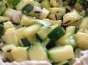 Torta riso zucchine