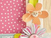 #CreativeRox Abbellire cornice fiori carta