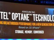 Intel rivela Optane memoria XPoint