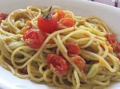 Spaghetti Pomodorini Crema Avocado