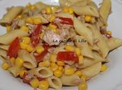 Insalate: Insalata pasta tonno pomodoro mais