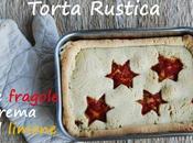torta rustica alle fragole crema limone