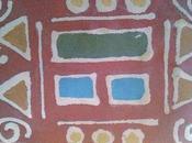 Batik bambini geometrie ispirate Klimpt