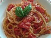 Spaghetti pomodorini pangrattato