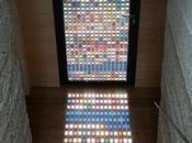 Pantone Stained Glass Door