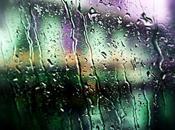 L'odore della pioggia d'estate.