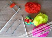 Pompon maker costruire attrezzo pompon