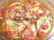 Tortino zucchine pomodori microonde