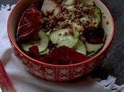 Insalata tiepida quinoa bicolore pausa pranzo avanzi scarti