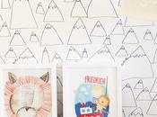 paper illustration Friedrich Baby Room