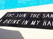 SUN.The SAND.A Drink Hand.