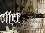 Christmas Dinner Harry Potter! cena nella sala grande negli studios Potter Londra!