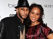 Alicia Keys incinta sposa Swiss Beatz