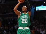 triple Allen tripla doppia Rondo danno successo Celtics
