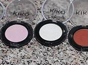 Kiko Make Mono Eyeshadow Swatches Review